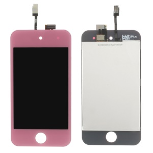 Touch Screen LCD Digitizer Assembly for iPod Touch 4 4th Gen 4G - Pink