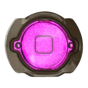 Electroplating iPod Touch 4th Generation Home Button with Holder - Purple