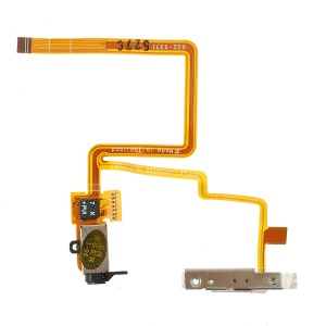 OEM Headphone Jack Hold Switch Flex Cable Replacement for iPod Video 60GB 80GB - Black