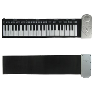 49 Keys Rollin Piano Rubber Soft Keyboard Piano