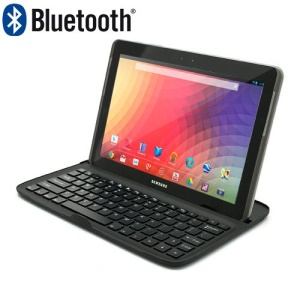 New Mobile Wireless Bluetooth Keyboard Stand Case for Samsung Google Nexus 10 P8110