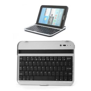 Wireless Bluetooth Keyboard for 7-inch Samsung Galaxy Tab 2 7.0 P3110 P3100 / P6200 P6210 Galaxy Tab 7.0 Plus - Black