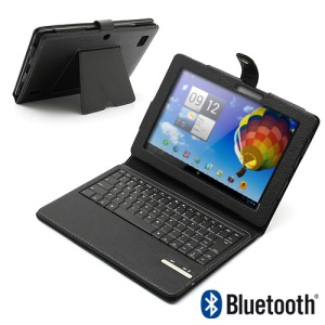 Magnetic Removable Bluetooth Keyboard Leather Stand Case for Acer Iconia Tab A200 A510 A700