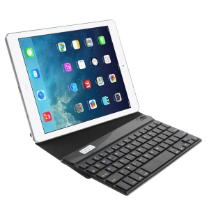 Black Universal 9-inch Bluetooth Keyboard Origami Stand Leather Cover for Samsung P7300 T320 Tablet PC