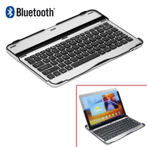 Aluminum Bluetooth Keyboard Case for Samsung Galaxy Tab 10.1 P7510 P7500;White