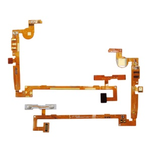 Volume Button Flex Cable with Microphone Transmitter for LG Nitro HD P930 (AT&T)