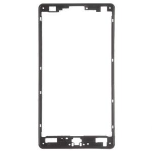 OEM Front Housing Bezel Frame for LG Optimus 4X HD P880 - Black