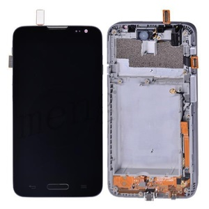 OEM for LG L70 D320 LCD Screen and Digitizer Assembly w/ Front Housing - Black