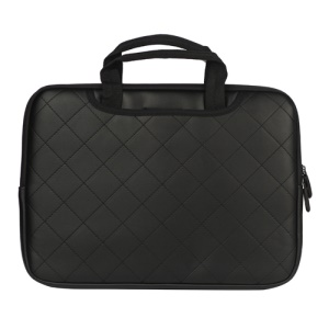 Soft Grid Zipper Carrying Bag Sleeve for MacBook Air / Pro 13.3-inch - Black