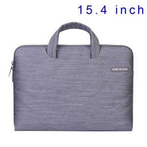 Grey Cartinoe Jean Series Notebook Bag Case for MacBook Pro 15.4 inch, Size: 39 x 27cm