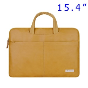 Gold Cartinoe Dirigent Series Zipper Notebook Bag Sleeve Case for MacBook Pro 15.4 inch, Size: 390 x 270 x 30mm