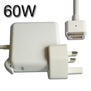60W AC Adapter Power Charger Supply for Apple Mac A1184 ,UK Plug