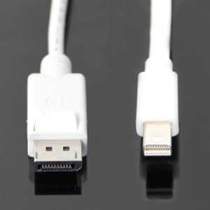 Mini DisplayPort to DisplayPort (Male to Male) Adapter Cable,Length:1.8m