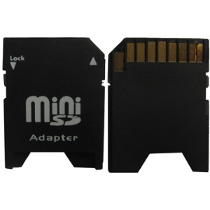 MiniSD Card to SD Adapter