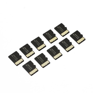 100PCS Micro SD TF Dummy Plastic Blank Card