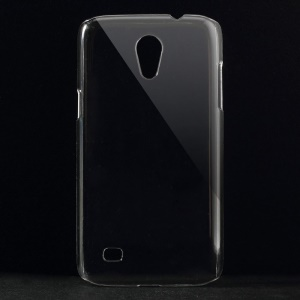 Transparent Crystal PC Back Case for Samsung Galaxy Core Lite LTE G3586