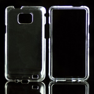 Snap-on Clear Crystal Case for Samsung i9100 Galaxy S 2