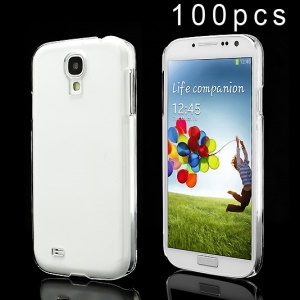 100PCS DIY Clear Crystal Hard Shell Case for Samsung Galaxy S4 i9500 i502 i9505 - Transparent