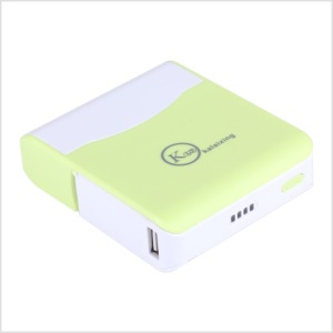 Green KLX 11000mAh Stand Mobile Power Charger for iPhone iPod Samsung Sony HTC LG