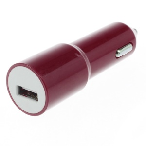 2.1A USB Car Charger Adapter for iPhone iPad iPod Samsung Sony LG HTC - Red