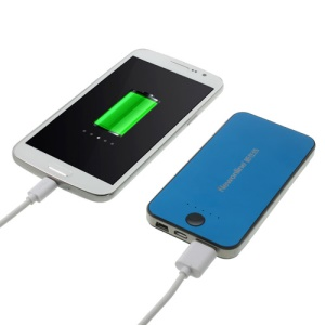 Newonline NE-4S12 6000mAh External Battery Charger for iPhone iPod Samsung HTC LG Sony etc - Blue