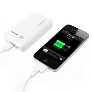 Newonline NE-4S04 7800mAh Power Bank for iPhone iPod Samsung HTC LG Sony etc - White