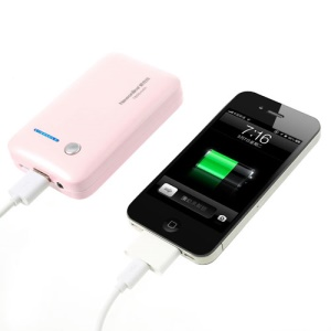 Newonline NE-4S04 7800mAh Power Bank for iPhone iPod Samsung HTC LG Sony etc - Pink