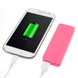 Rose 3000mAh Slim Battery Charger Power Bank for iPhone iPod Samsung Sony LG