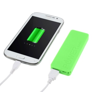 Green 3000mAh Slim Battery Charger Power Bank for iPhone iPod Samsung Sony LG