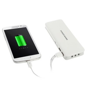 16800mAh Dual USB Portable Charger External Battery for iPhone iPad iPod Samsung HTC Nokia - Grey