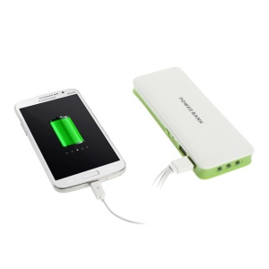 16800mAh Dual USB Mobile Charger Power Pack for iPhone iPad iPod Samsung HTC Nokia - Green