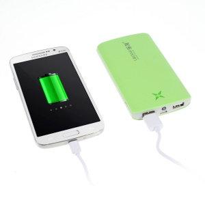 10400mAh Leyou LY-930 Extended Power Bank Charger for iPhone iPad Samsung Sony HTC LG - Green