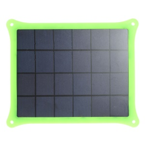 Green 5W 5V 1A Solar Power Charger Panel for iPhone Samsung Sony HTC LG Huawei Etc Smartphones & MP3 MP4