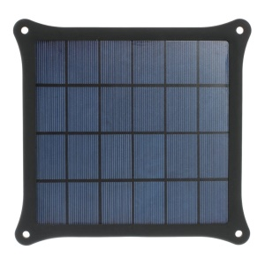 Black 4W Solar Power Charger Panel for iPhone Samsung Sony HTC LG Huawei Etc Smartphones & MP3 MP4