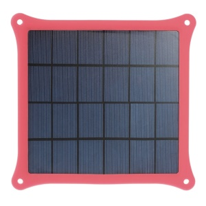 Red 4W Solar Power Panel Charger for iPhone Samsung Sony HTC LG Huawei Etc Smartphones & MP3 MP4