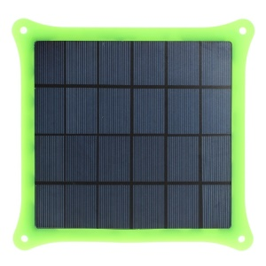 Green 4W 5V 0.8A Solar Power Panel Charger for iPhone Samsung Sony HTC LG Huawei Etc Smartphones & MP3 MP4