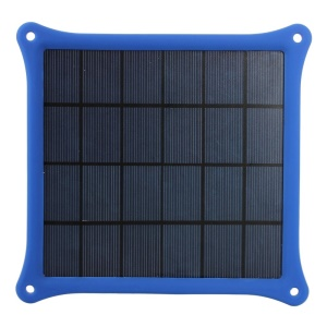 Blue 4 Watts 5V 0.8A Solar Power Panel Charger for iPhone Samsung Sony HTC LG Huawei Etc Smartphones & MP3 MP4
