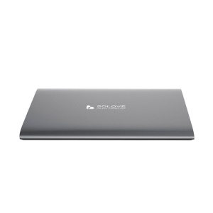 Black Solove 20000mAh Dual 2.1A Outputs Power Bank for iPhone iPad Sony HTC Samsung Phones & Tablets