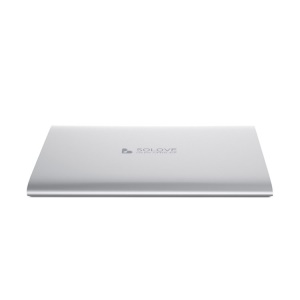 White Solove 20000mAh Dual 2.1A Outputs Power Bank for iPhone iPad Sony HTC Samsung Phones & Tablets