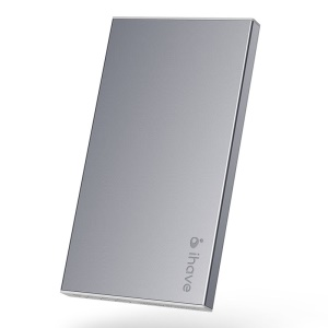 Grey IHAVE BOSS 5000mAh External Battery Charger for iPad iPhone iPod Phones Tablets
