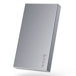 Grey IHAVE BOSS 10000mAh Dual Output Power Bank for iPad iPhone iPod Phones Tablets