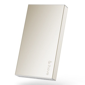 Gold IHAVE BOSS 10000mAh Dual Output Power Bank for iPad iPhone iPod Phones Tablets