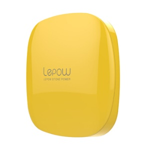 Lepow Moonstone Lady 6000mAh Dual Outputs Power Bank for iPhone iPad Samsung etc - Yellow