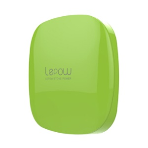 Lepow Moonstone Lady 6000mAh Dual Outputs Power Bank for iPhone iPad Samsung etc - Green
