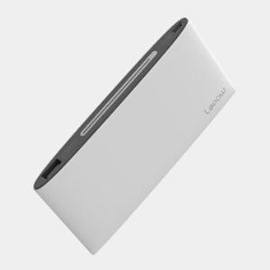 Lepow Poki 10000mAh 2.1A Power Bank for iPhone iPad Sony Samsung etc - White
