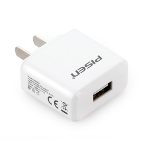 Pisen I Charger II 1A Power Adapter for iPhone iPad mini Samsung HTC - US Plug