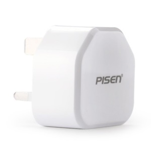 Pisen I Charger II 1A Power Adapter for iPhone iPad mini Samsung HTC - UK Plug