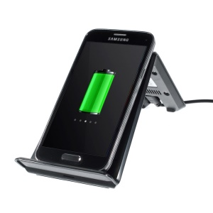 Itian A6 Qi Wireless Charging Transmitter Stander for Samsung N7100 I9300 Nokia 920 LG Nexus 4 - Black