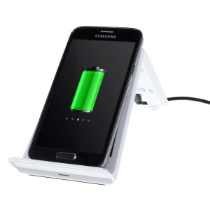 Itian A6 Qi Wireless Charging Transmitter Stander for Samsung N7100 I9300 Nokia 920 LG Nexus 4 - White