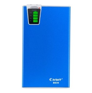 Blue Cager B030 15000mAh Smart Mobile Power Charger w/ Card Reader Function for iPhone iPad Samsung Smartphone Tablet